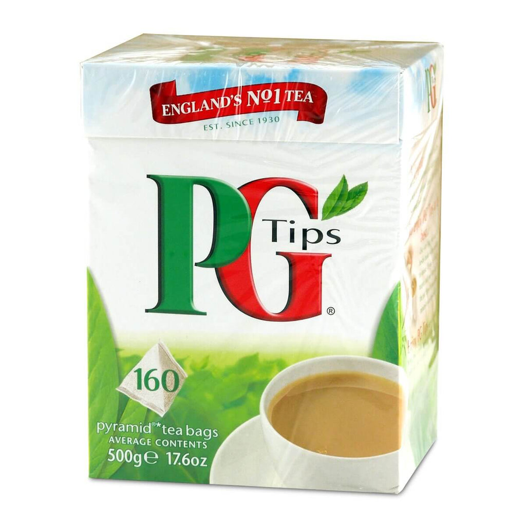 PG Tips Tea - Original Large Box (Pack of 160 Pyramid Tea Bags) 464g