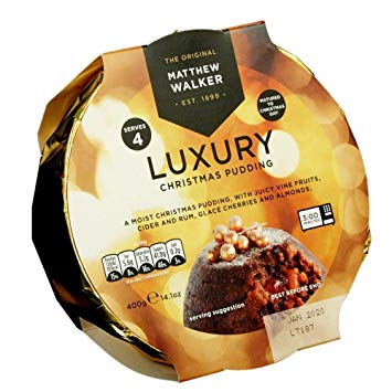 Matthew Walker Luxury Christmas Pudding 400g