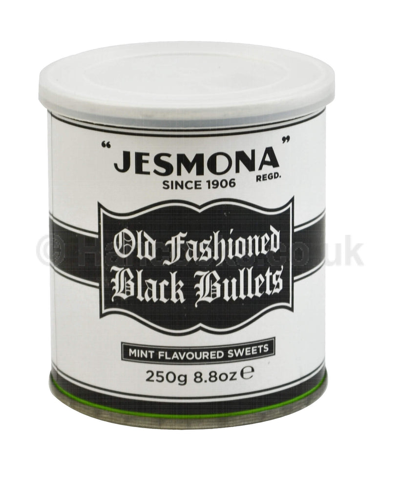 Jesmona Sweets - Old Fashioned Black Bullets 250g