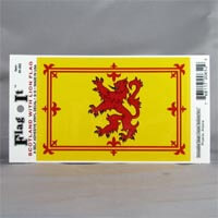 "British Brands Decal Scotland Lion Flag 5"" x 3.25"" 10g"