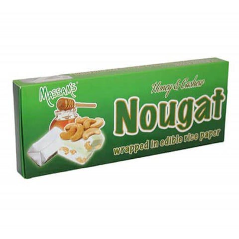 Massams Honey Cashew Nougat (Pack of 6) (Kosher) 150g