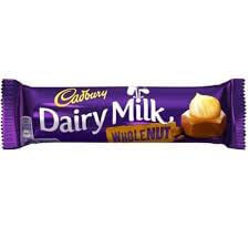 Cadbury Dairy Milk - Wholenut Small Bar 45g