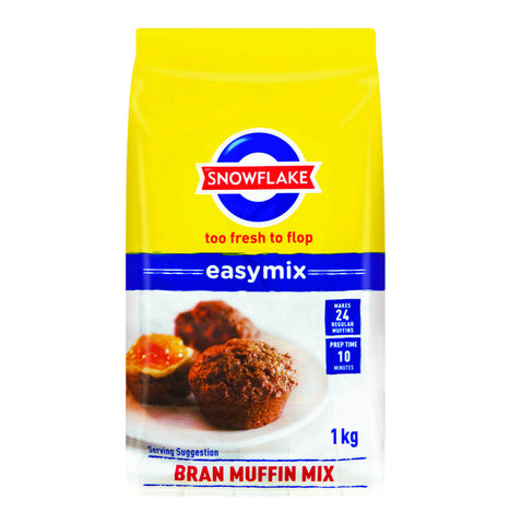 Snowflake Mix -  Bran Muffin 500g