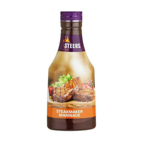 Steers Sauce - Steakmaker Marinade 700ml