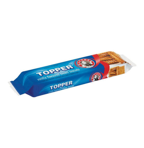 Bakers Topper Vanilla Biscuits (Kosher) 125g