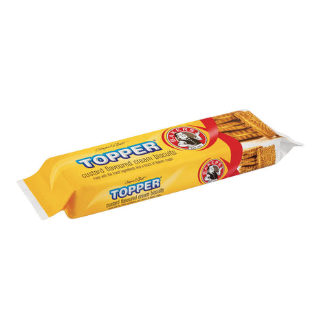Bakers Topper Custard Biscuits (Kosher) 125g