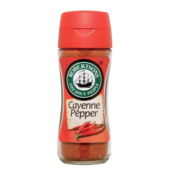 Robertsons Spice - Cayenne Pepper Bottle (Kosher) 100ml