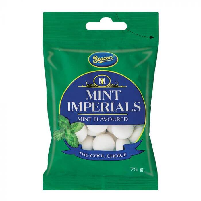 Beacon Mint Imperials Bag (Kosher) 75g