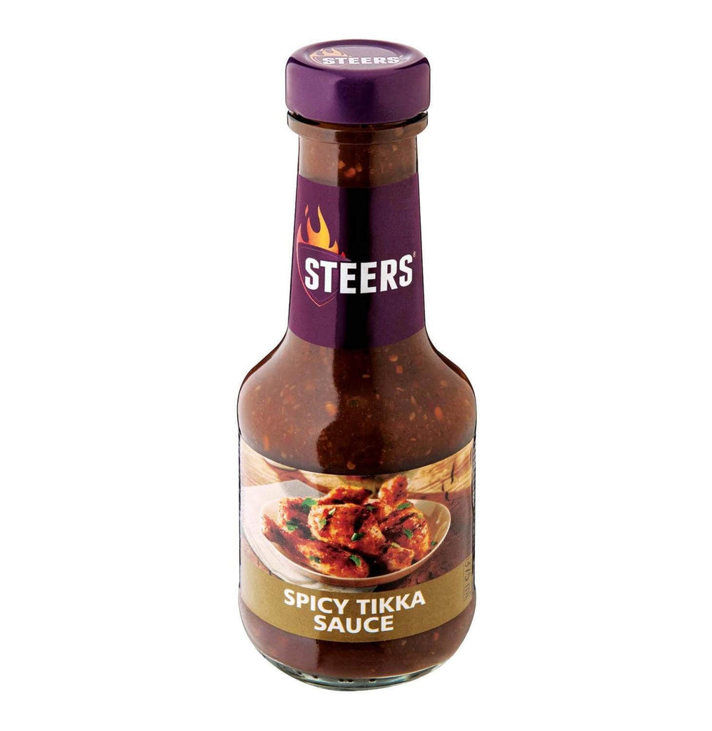 Steers Sauce - Spicy Tikka 375ml