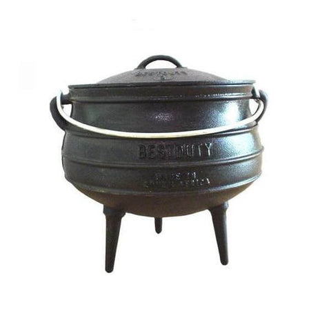 Best Duty Potjie Pot with Lid #2 8kg