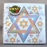 DINU Napkins - Magen David Blue (Pack of 20) 111g