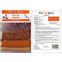 Nice and Spicy Vindaloo Spice Mix 25g