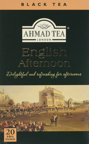 Ahmad Tea - English Afternoon (Pack of 20 Tea Bags) 40g