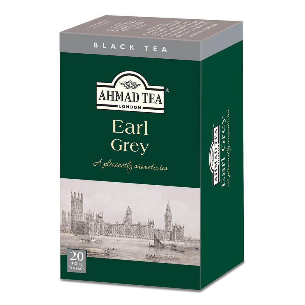 Ahmad Tea - Earl Grey (Pack of 20 Tea Bags) 40g