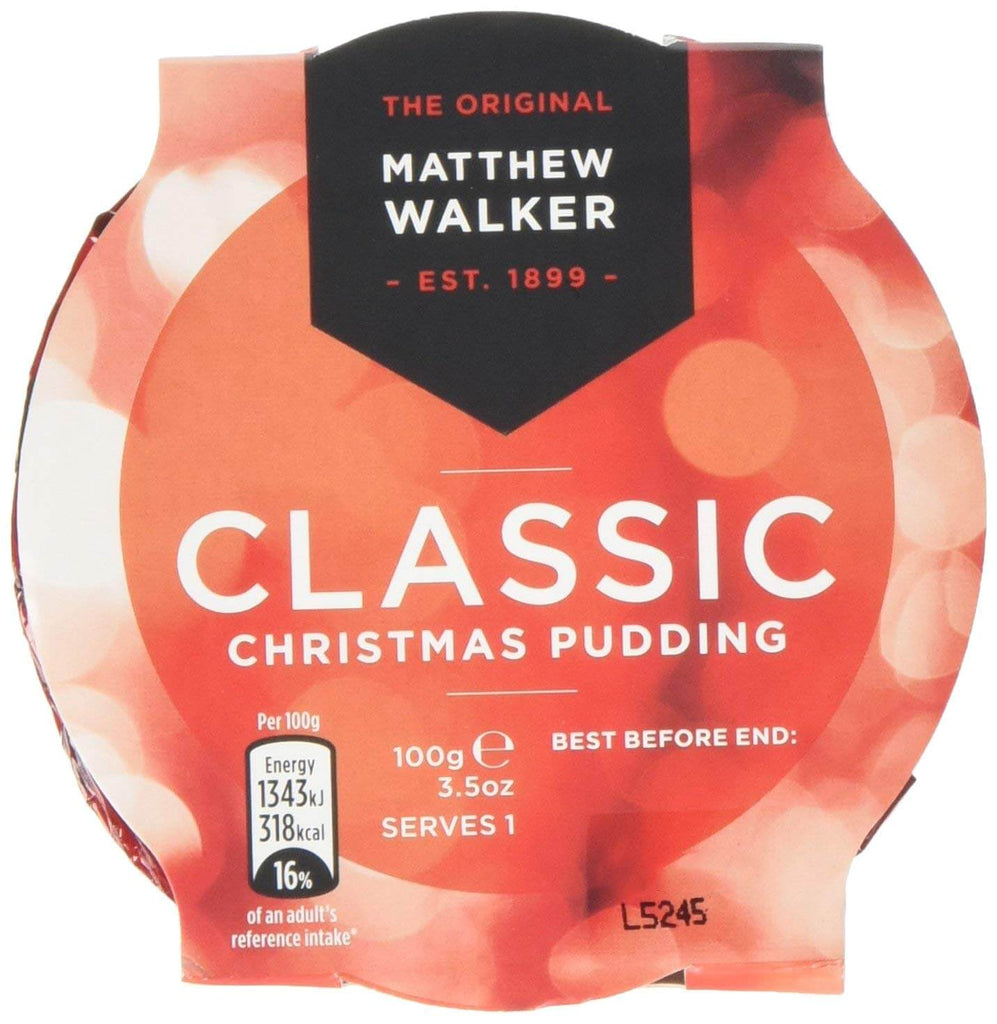 Matthew Walker Christmas Pudding - Classic 100g