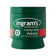 Ingrams Camphor Cream - Herbal 500g