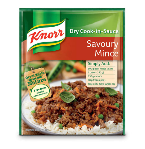 Knorr Sauce - Savory Mince  48g