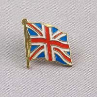 British Brands Pin Badge - UK Flag  10g