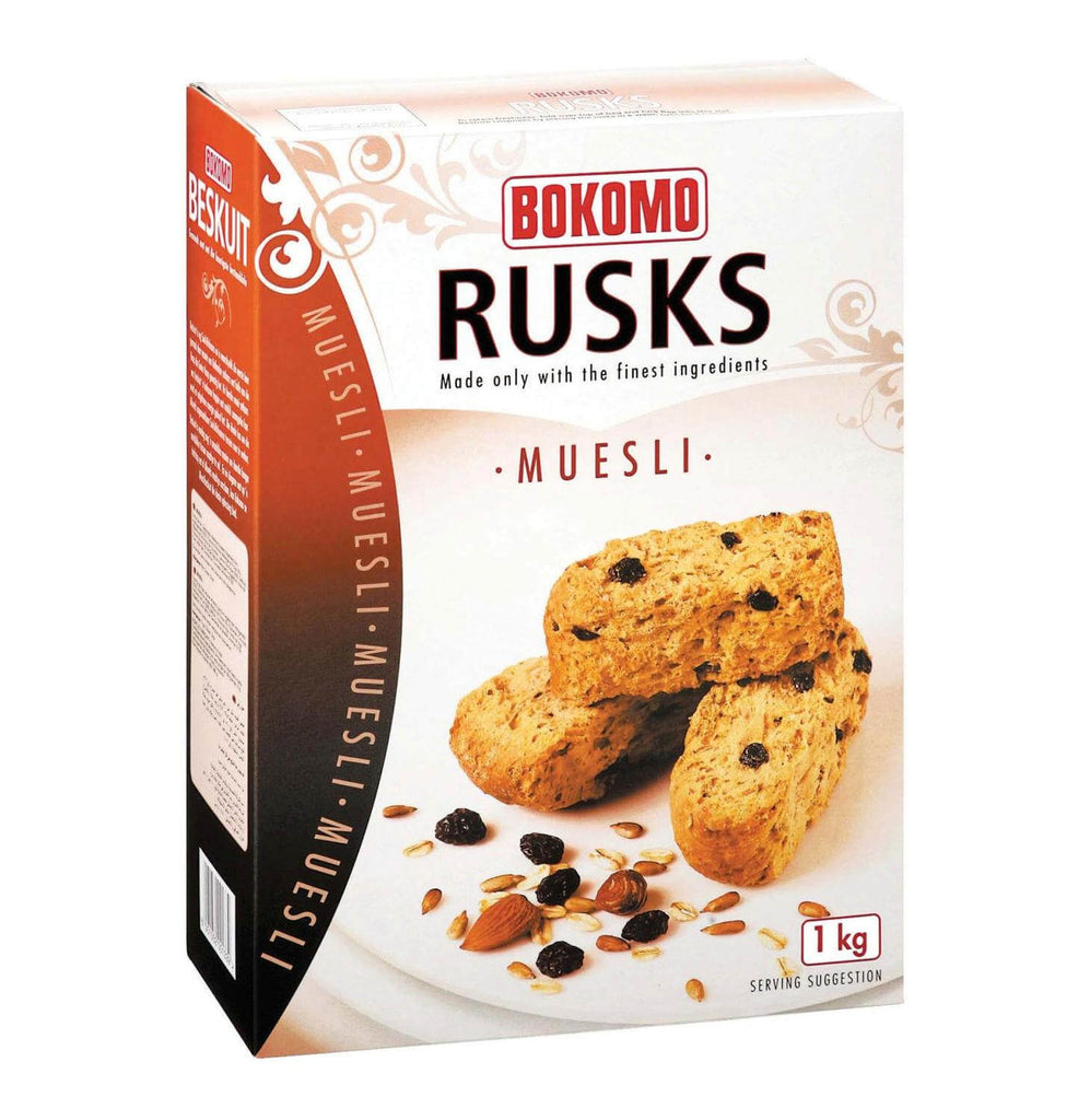 Bokomo Rusks - Muesli Traditional Cut (Kosher) 500g