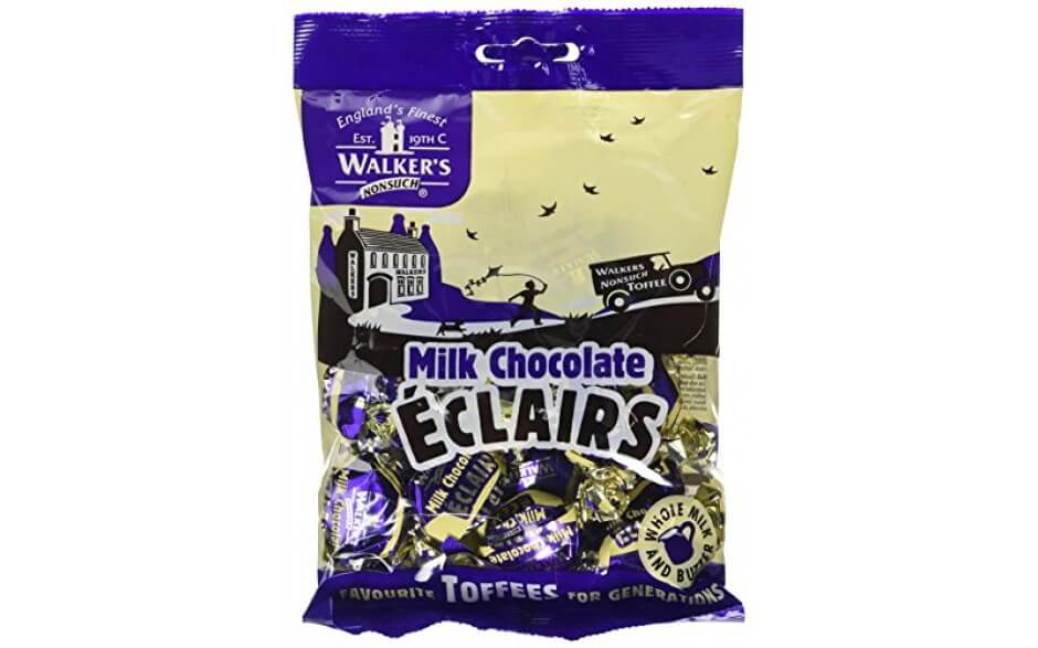 Walkers Nonsuch Milk Chocolate Eclairs 150g