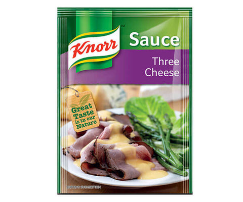 Knorr Three Cheese Dried Sauce Packet 38g