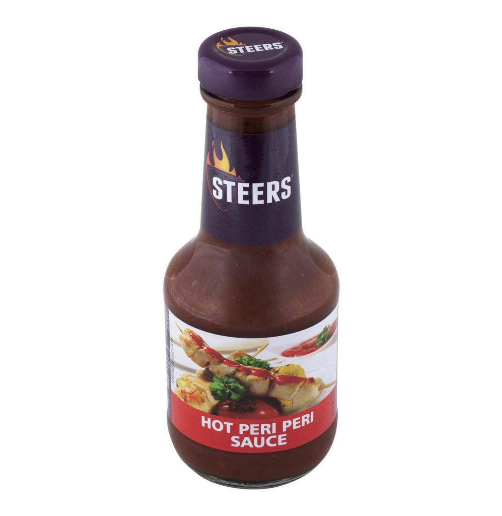 Steers Hot Peri Peri Sauce 375ml