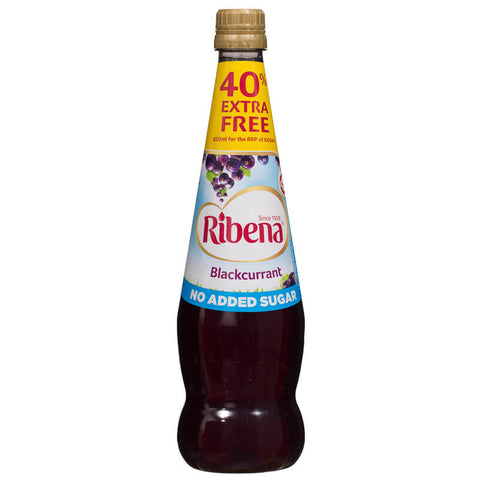 Ribena Blackcurrant Juice - Light No Added Sugar 850ml