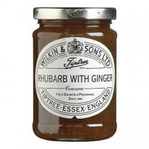 Wilkin and Sons Tiptree Rhubarb with Ginger Conserve 340g