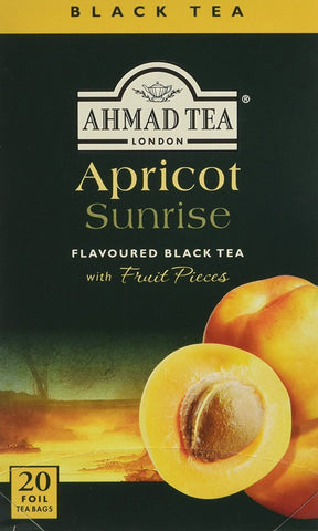 Ahmad Apricot Sunrise Tea Bags (Pack of 20) 40g