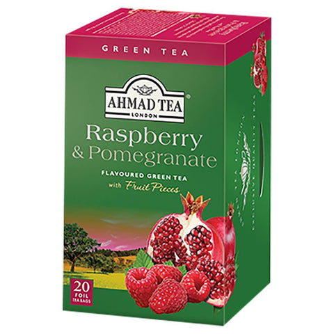 Ahmad Tea - Raspberry Indulgence (Pack of 20 Tea Bags) 40g
