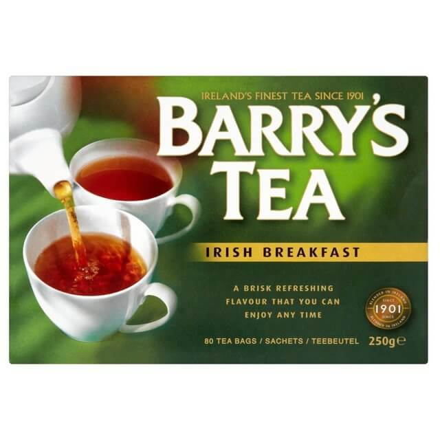 Barrys Irish Breakfast Tea Bags (Pack of 80) 250g