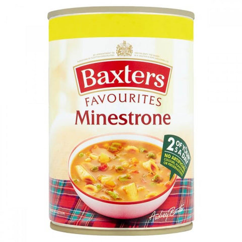 Baxters Minestrone Soup 400g