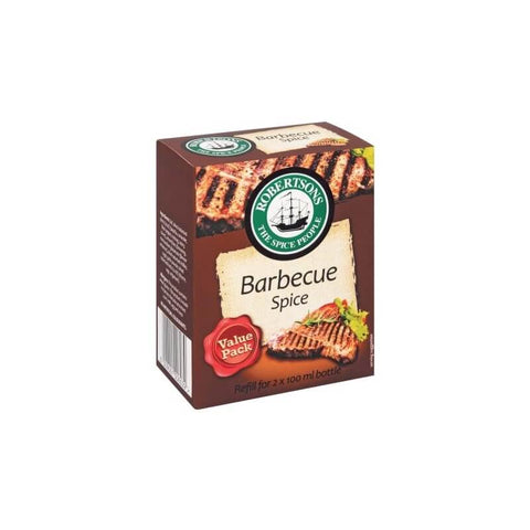 Robertsons Spice - BBQ Refill Large Box 128g