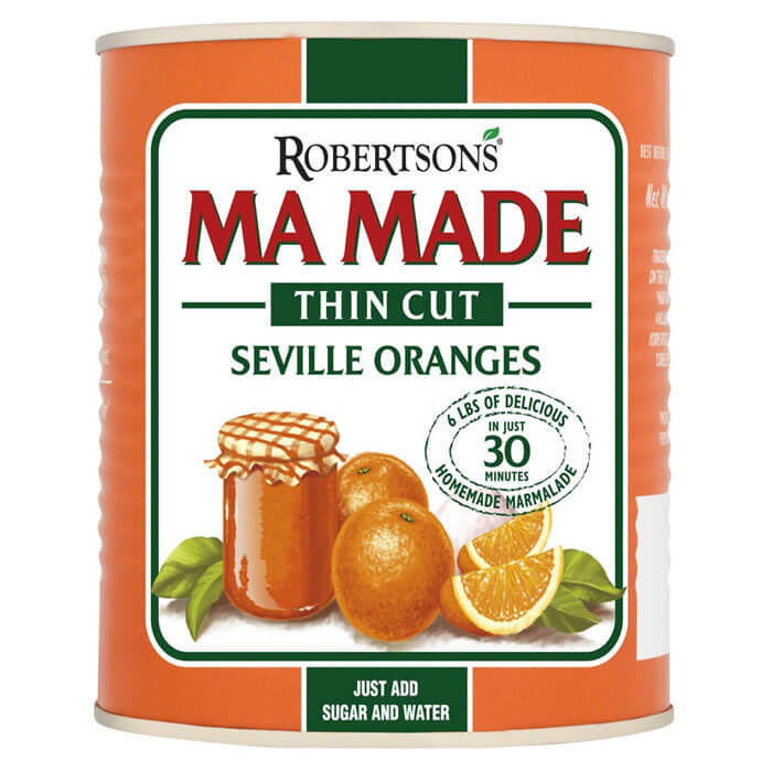 Robertsons (Hartleys) Ma Made Thin Cut Seville Oranges 850g
