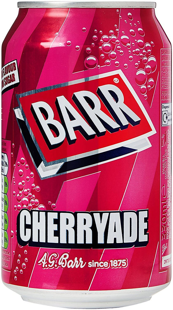 Barrs Cherryade 330ml