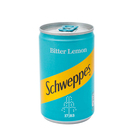 Schweppes Bitter Lemon Can 150ml