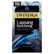 Twinings Lapsang Souchong Tea Bags (Pack of 50) 125g
