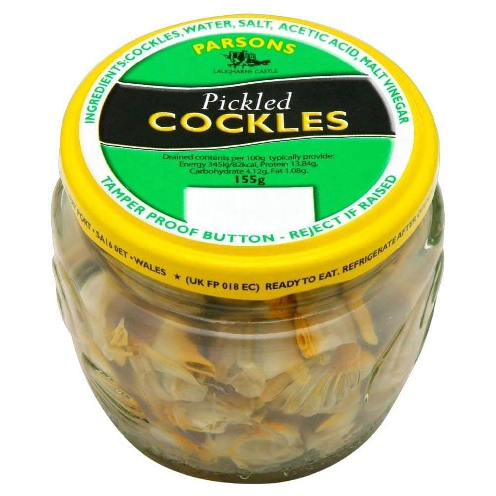 Parsons Pickled Cockles in Vinegar 155g