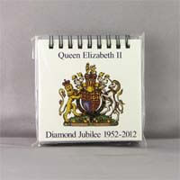 British Brands Notepad - Diamond Jubilee (COA) 200g