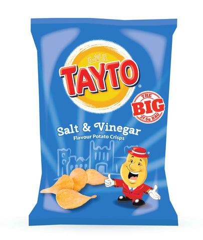 Tayto Salt and Vinegar Potato Crisps 37.5g