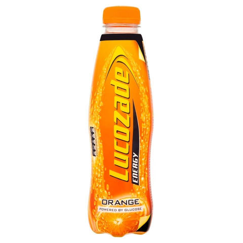 Lucozade Orange Bottle 380ml