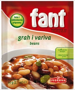 Podravka Fant Seasoning Mix For Beans 60g