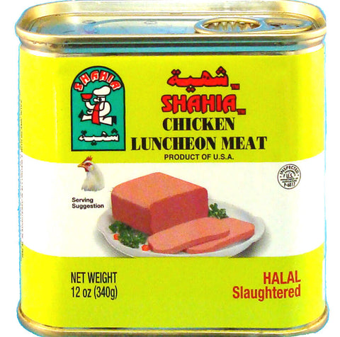 Shahia Chicken Luncheon Meat 340g