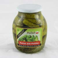 Zergut Polish Dill Pickles 840g