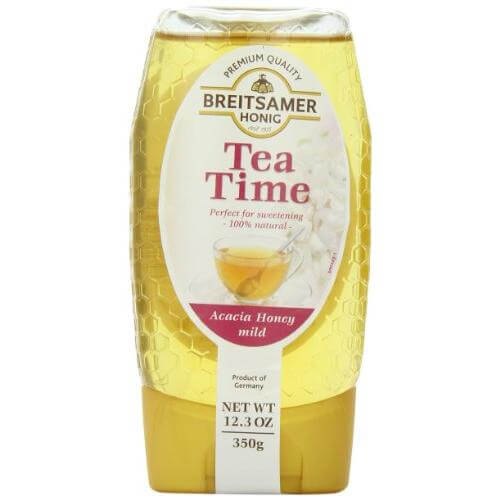 Breitsamer Acacia Tea Time Honey Squeeze Bottle 350g