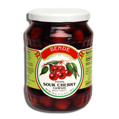 Bende Pitted Sour Cherry Compote 680g