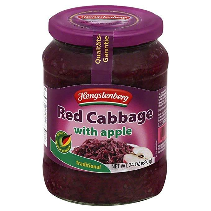 Hengstenberg Traditional Red Cabbage With Apple 680g
