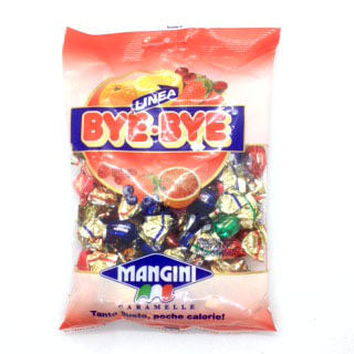 Mangini Linea Bye Bye Fruit Filled Candies 150g