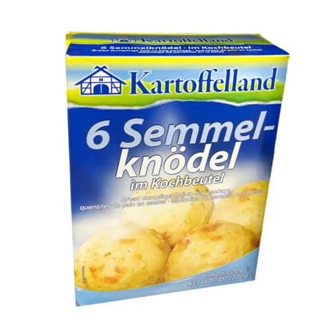 Kartoffelland Bread Dumplings In Cooking Bags (Pack of 6) 200g