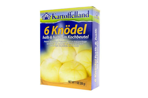 Kartoffelland Knoedel-Classic Potato Dumplings In Cooking Bags (Pack of 6) 200g